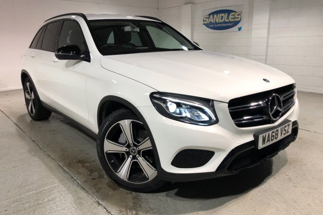 Mercedes Benz Glc-class 2.1 Glc 220 D 4matic Urban Edition 5dr Estate 2018