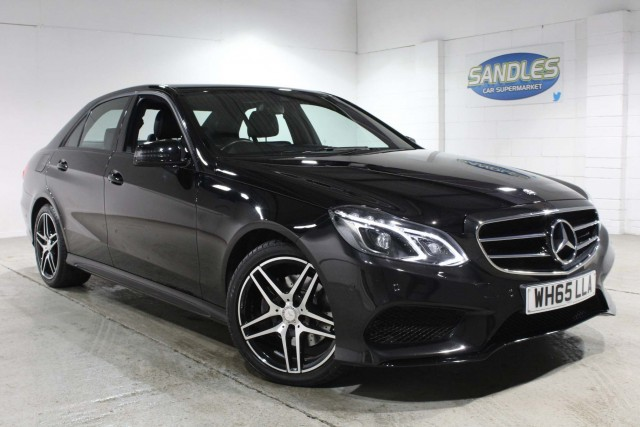 Mercedes Benz E-class 2.1 E220 Bluetec Amg Night Edition 4dr Saloon 2016