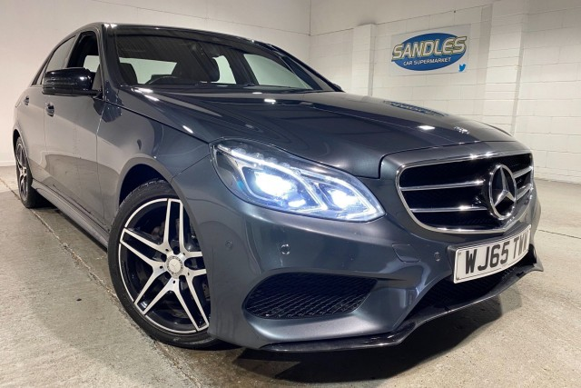 Mercedes Benz E-class 2.1 E220 Bluetec Amg Night Edition 4dr Saloon 2015