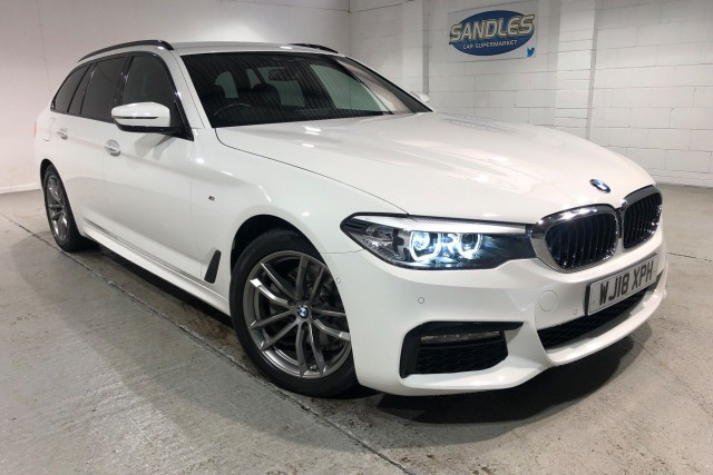 BMW 5 Series 2.0 520d M Sport Touring 5dr Estate 2018