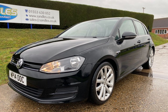 Volkswagen Golf 1.6 Bluemotion TDi 5dr Hatchback 2014