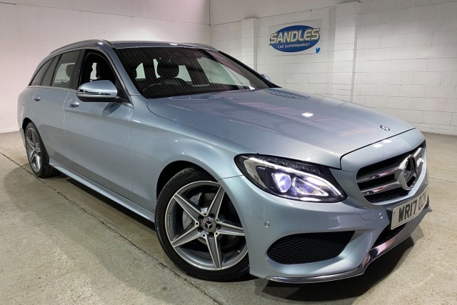 Mercedes Benz C-class 2.1 C 220 D Amg Line 5dr Estate 2017