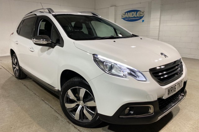 Peugeot 2008 1.6 Blue HDi S/S Allure 5dr Suv 2016