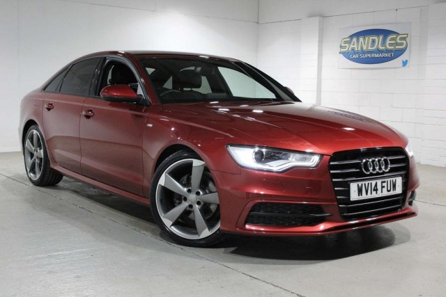 Audi A6 2.0 TDi Ultra Black Edition 4dr Saloon 2014