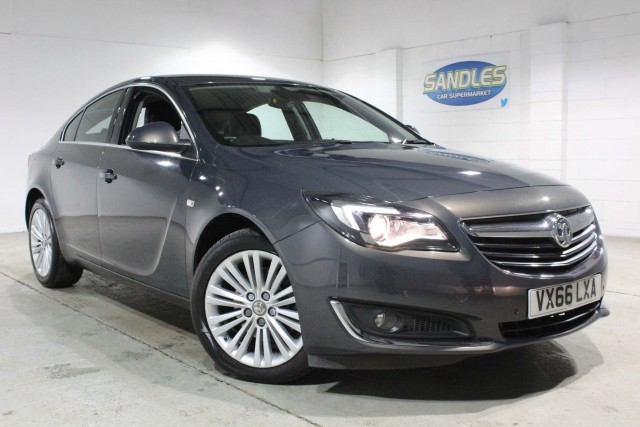 Vauxhall Insignia 2.0 Tech Line CDTi 5dr Hatchback 2016