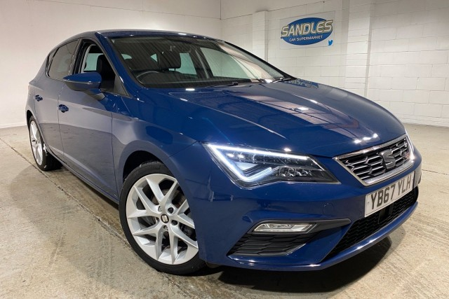 Seat Leon 1.4 Tsi Fr Technology 5dr Hatchback 2017