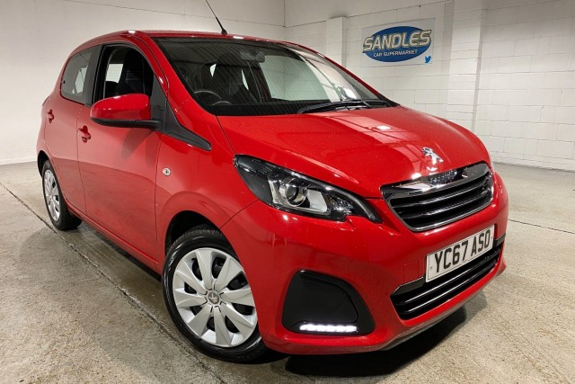 Peugeot 108 1.0 Active 5dr Hatchback 2017