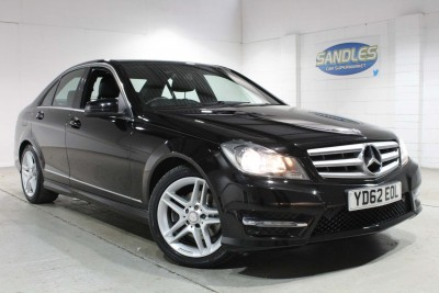 Mercedes Benz C-class C250 Cdi Blueefficiency Amg Sport