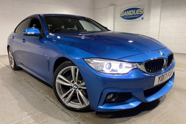BMW 4 Series 2.0 420d M Sport Gran Coupe 4dr Coupe 2017