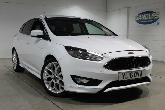 Ford Focus 1.0 Zetec S 5dr Hatchback 2016