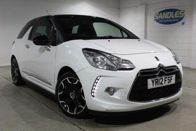 Citroen Ds 3 1.6 Dstyle Plus 3dr Hatchback 2012