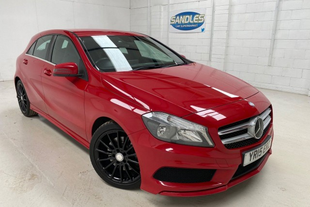 Mercedes Benz A-class 2.1 A220 CDi Blueefficiency Amg Sport 5dr Hatchback 2015