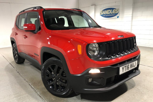 Jeep Renegade 1.6 Dawn Of Justice 5dr Suv 2016