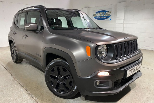 Jeep Renegade 1.6 M-jet Night Eagle 5dr Suv 2016